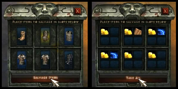 Salvage-items
