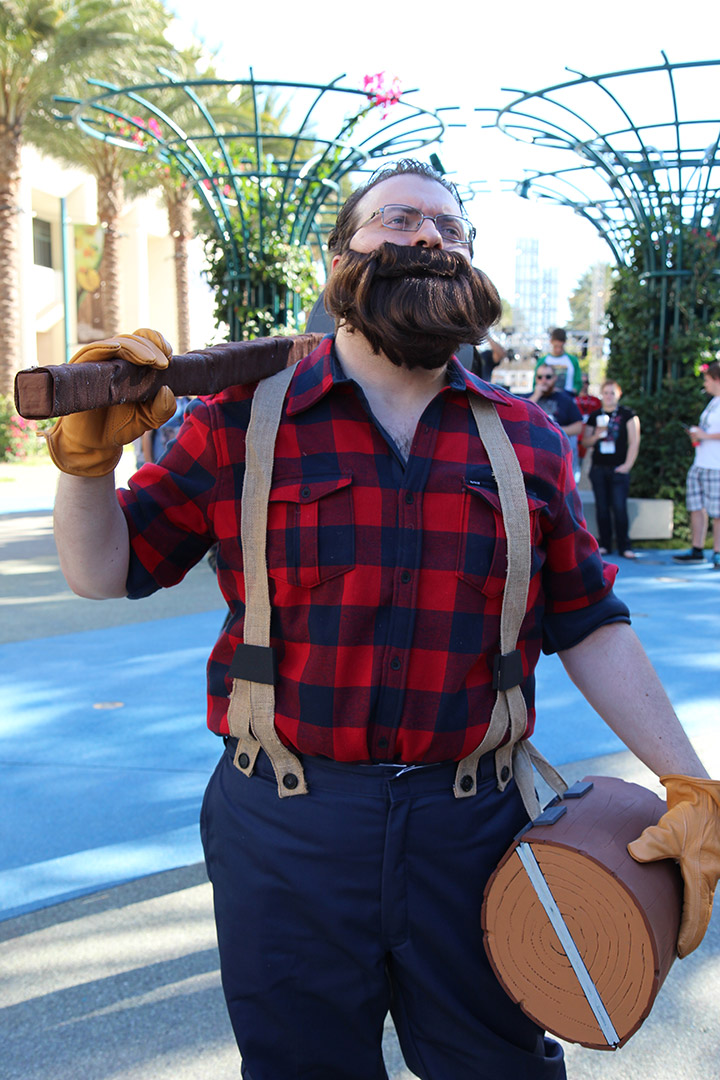 Lumberjack Uther skin - Heroes of the Storm