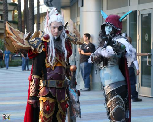 Lor'themar Theron and Lady Sylvanas from WoW